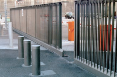 ezi-security-safety-bollards-and-sliding-gate-for-security-solution