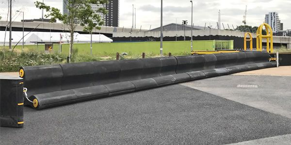 impakt defender security solutions as safety barriers