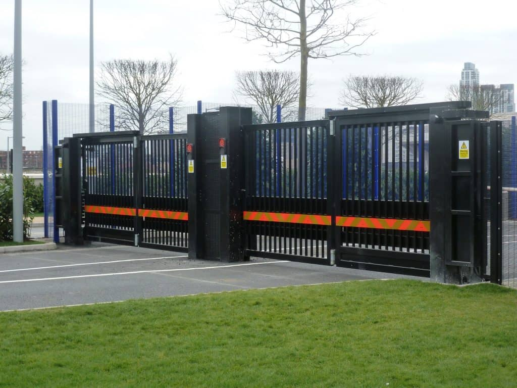 ezi security bi-folding speed electric gates sydney