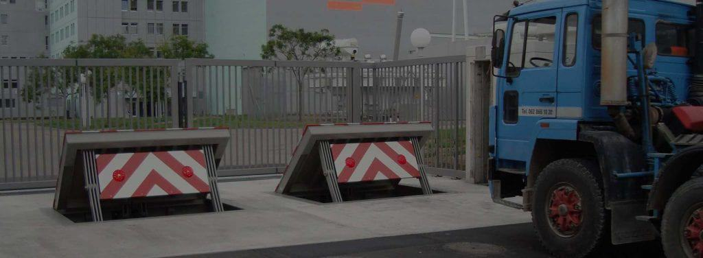 Ezi Security Systems Homepage Wedge Barrier