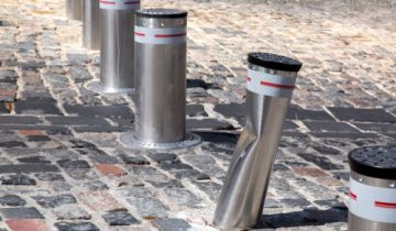 PAS 68 pedestrian safety bollards in Perth