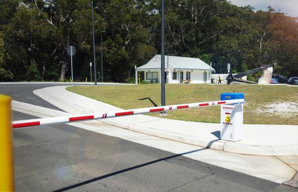 boom gate for car park security in Sydney